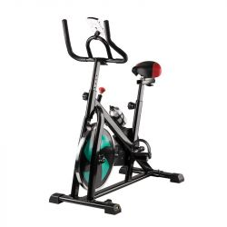 Rotoped spinningový s displejem MAGNETO 20 - černo-zelený
