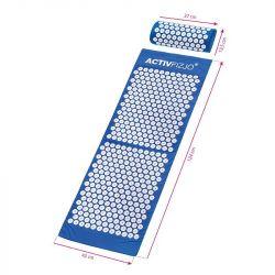 Akupresurní podložka s polštářkem - modrobílá