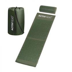 Akupresurní podložka s polštářkem - tmavě zelená  (AS)