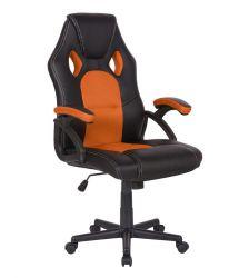Herní židle Racer CorpoComfort BX-2052 - oranžová