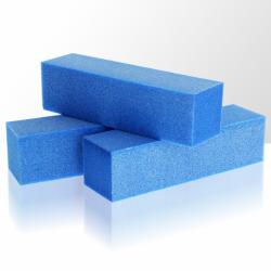 Leštící blok na nehty - modrý