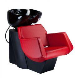 Kadeřnický mycí box NICO BD-7821 červený