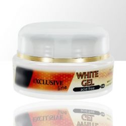 Uv gel na nehty WHITE 30ml