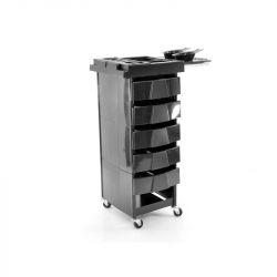 Kadeřnický vozík 001 černý (AS)