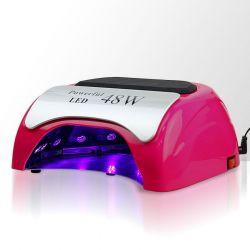 LED lampa na nehty 48W - tm. růžová