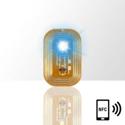 LED dioda na nehty NFC - modrá