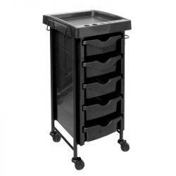 Kadeřnický vozík 009 černý (AS)