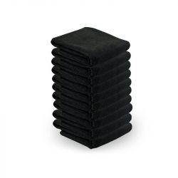Ručník z mikrovlákna 73 x 40cm 10ks - černý (AS)