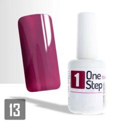 One Step gel UV/LED 3v1 fialovo-růžový 15ml (A)