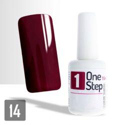 One Step gel UV/LED 3v1 vínový 15ml (A)
