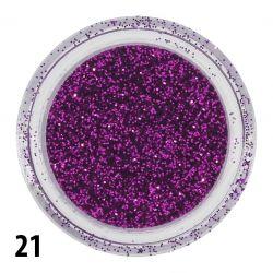 Glitterový prach č. 21 - nádobka (A)