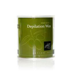 Depilační vosk z Řecka SIMPLE USE olivový - plechovka 800ml (A)