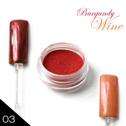 03. Chromatic pigment - BURGUNDY WINE - Chromový efekt (A)