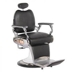 Barbers holičské křeslo MOTO STYLE černé (AS)