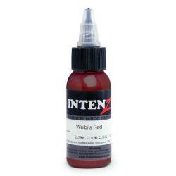 Tetovací barva Intenze Ink 30ml, Andy Engel - Weibi's Red (K)