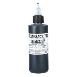 Tetovací barva Silverback Ink XXX Black-120ml (K)