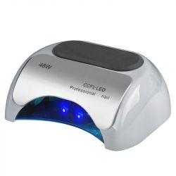 Lampa PROFESSIONAL 2v1 UV LED+CCFL 48W TIMER+SENSOR stříbrná (AS)