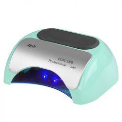 Lampa PROFESSIONAL 2v1 UV LED+CCFL 48W TIMER+SENSOR máta (AS)