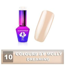 10 Gel lak Colours by Molly 10ml - Dreaming (A)