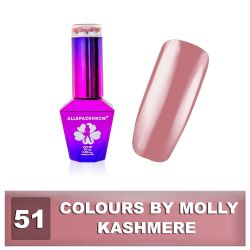 51 Gel lak Colours by Molly 10ml - Kashmere (A)