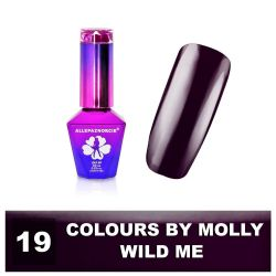 19 Gel lak Colours by Molly 10ml - Wild Me (A)