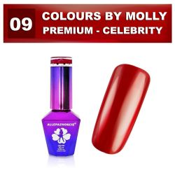 09 Gel lak Colours by Molly PREMIUM 10ml -CELEBRITY- (A)