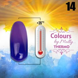 Gel lak Colours by Molly Thermo 14 - 10ml (A)