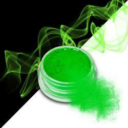 Nehtový pyl SMOKE NAILS - smoke efekt 02 NEON GREEN (A)