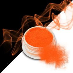 Nehtový pyl SMOKE NAILS - smoke efekt 05 NEON ORANGE (A)