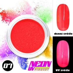 NEON UV pigment - neonový pigment v prášku 07 (A)