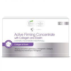 Bielenda Sada zpevňujících koncentrátů s kolagenem a elastinem 10x3ml