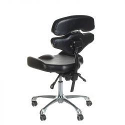 Otočná tetovací stolička s opěradlem JUHO INKOO