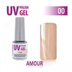00.UV gel lak na nehty AMOUR hybridní 6 ml (A)