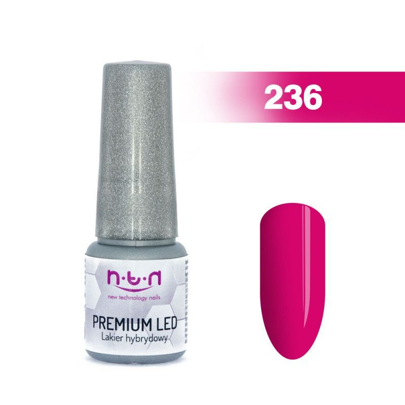 236.NTN Premium Led lak na nehty 6 ml