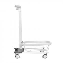 COMFORT Výškově nastavitelný pedikérský vozík s vaničkou