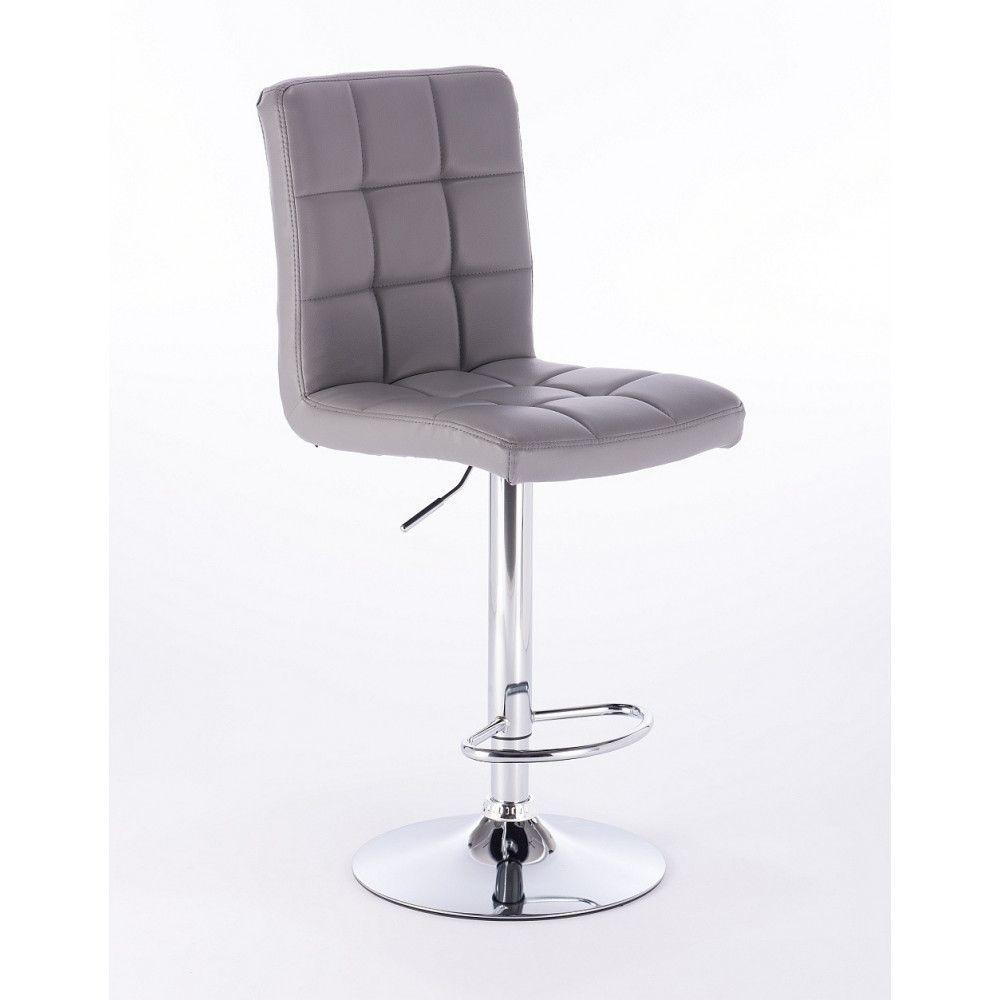 Barová židle 1015 šedá