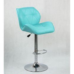 Barová židle 111w tyrkysová (VPT)