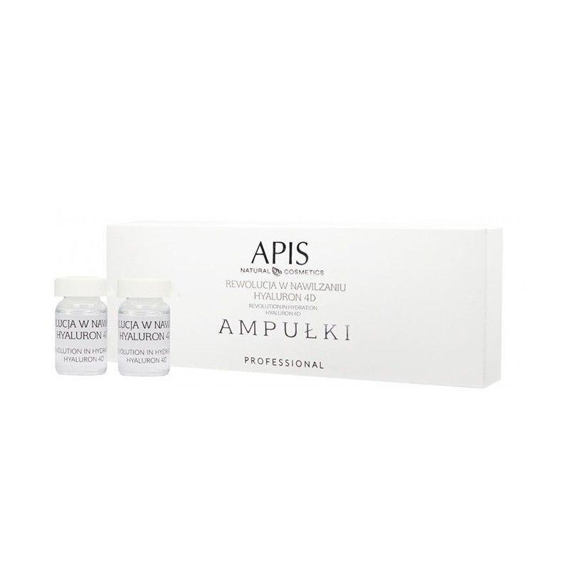 APIS Ampoules na zvlhčování pleti Hyaluron 4D 5x5ml