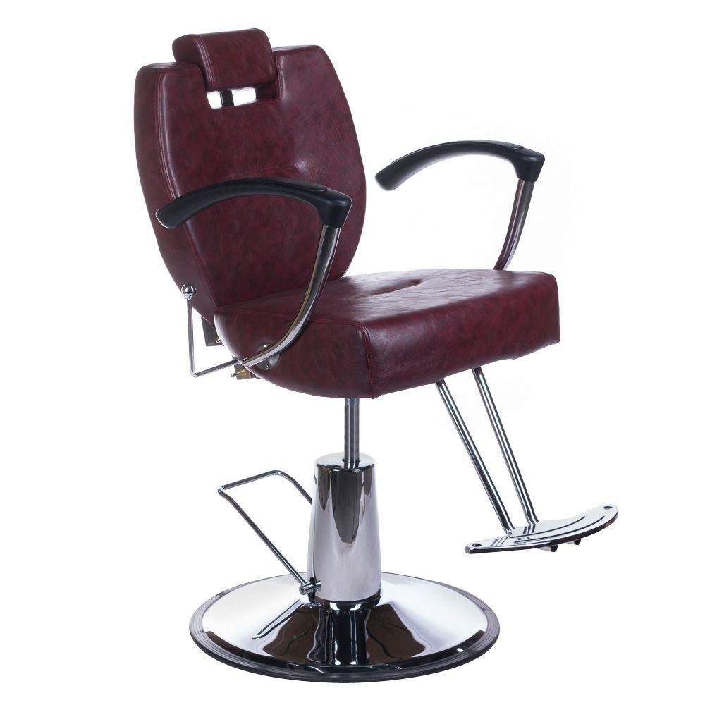 Barbers křeslo HEKTOR BH-3208 višňová