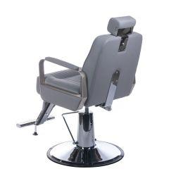 Barbers křeslo HOMER BH-31237 světle šedé