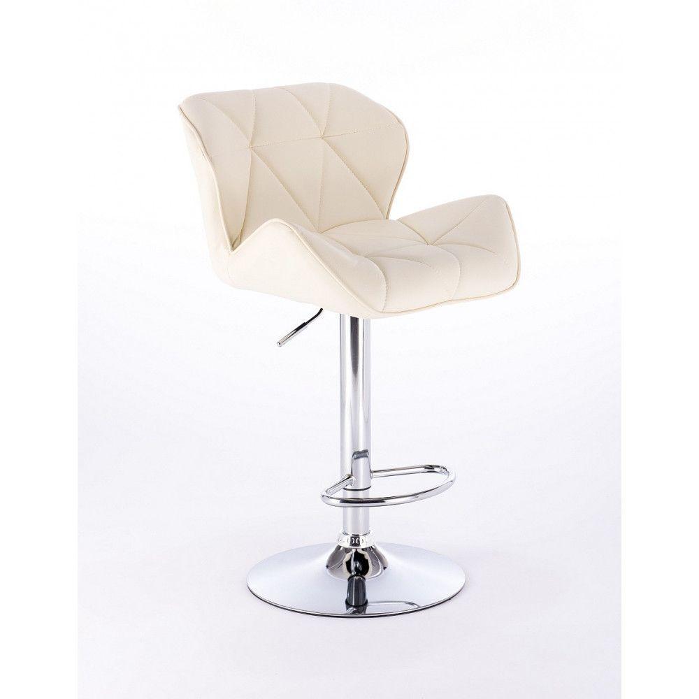 Barová židle 111w krémová