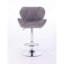 Barová židle 111w šedá