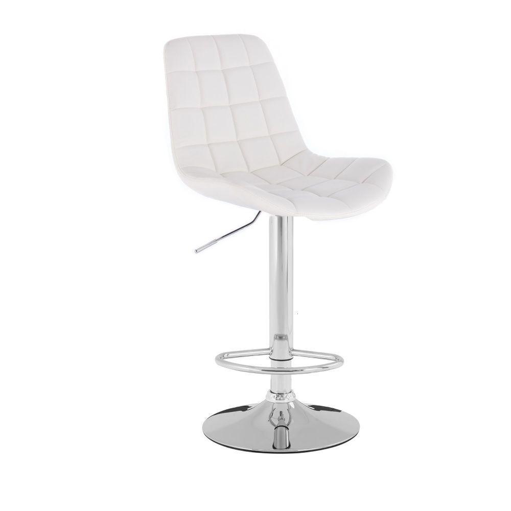 Barová židle HR590K bílá