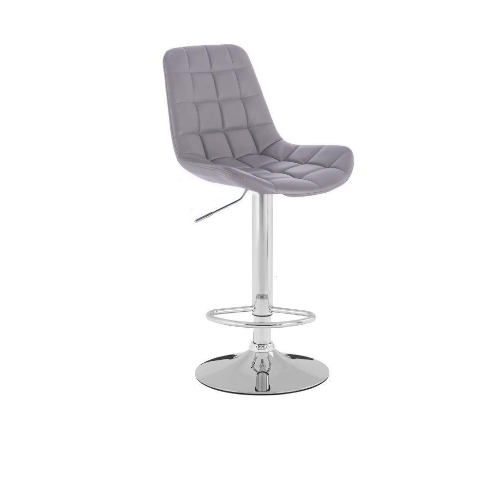 Barová židle HR590K šedá