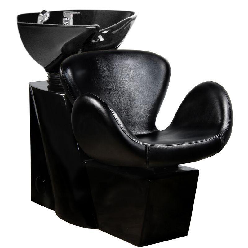 GABBIANO Kadeřnický mycí box AMSTERDAM černý
