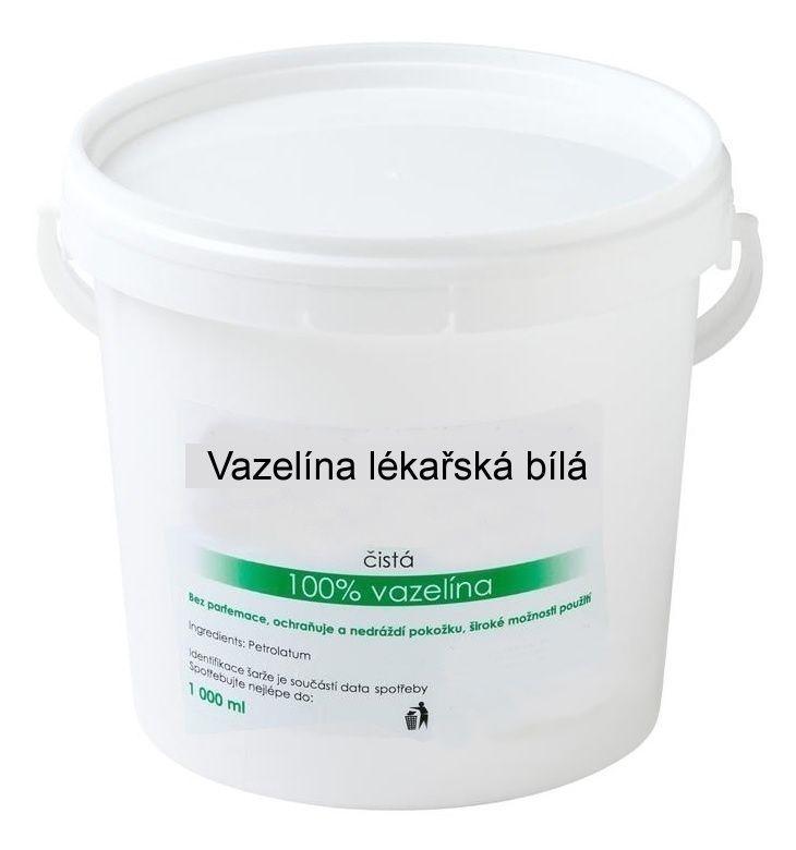 Lékařská vazelína bílá 1000 ml