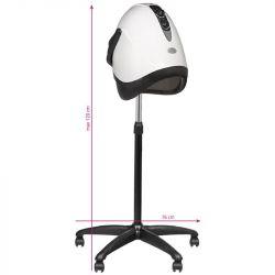 Vysoušeč na vlasy na stativu GABBIANO LX-201S - bílý