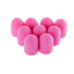 Brusné kloboučky 13 mm/80 - růžové