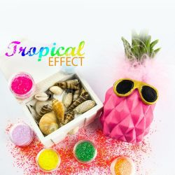 Prášek na nehty Tropical Effect 4