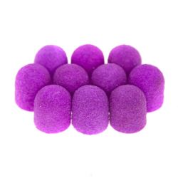 Brusné kloboučky 13 mm/80 - fialové